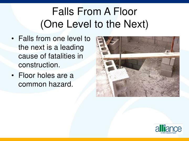Falls From A Floor