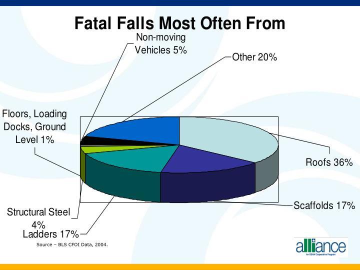 Source – BLS CFOI Data, 2004.
