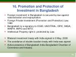 16 promotion and protection of investment in bangladesh