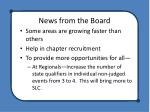 news from the board3