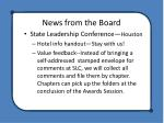 news from the board5