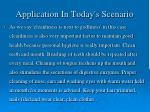 application in today s scenario2