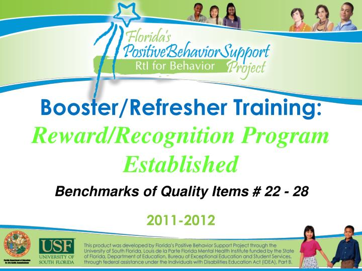 booster refresher training reward recognition program established n.