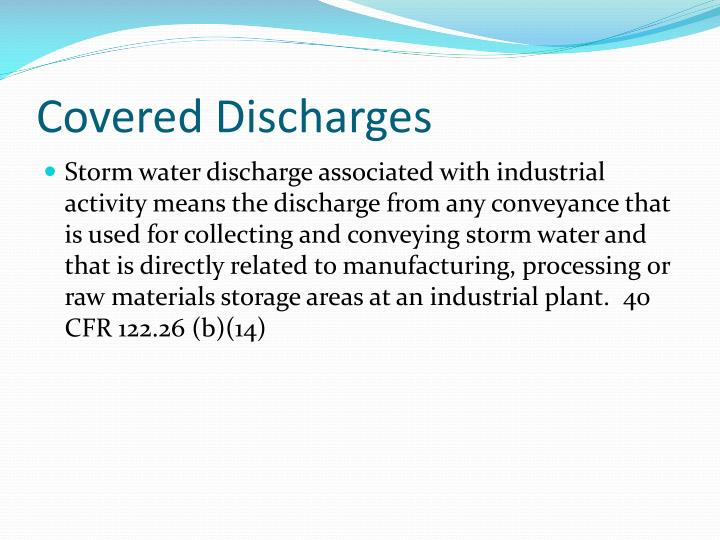 Covered Discharges