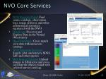 nvo core services