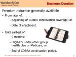 maximum duration