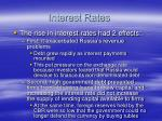 interest rates1