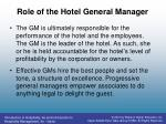 role of the hotel general manager1
