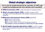 global strategic objectives