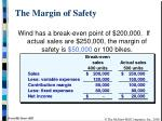the margin of safety1