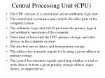 central processing unit cpu1