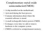 complementary metal oxide semiconductor cmos