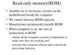 read only memory rom