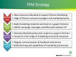 tpm strategy