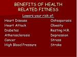 benefits of health related fitness
