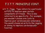 f i t t principle cont2