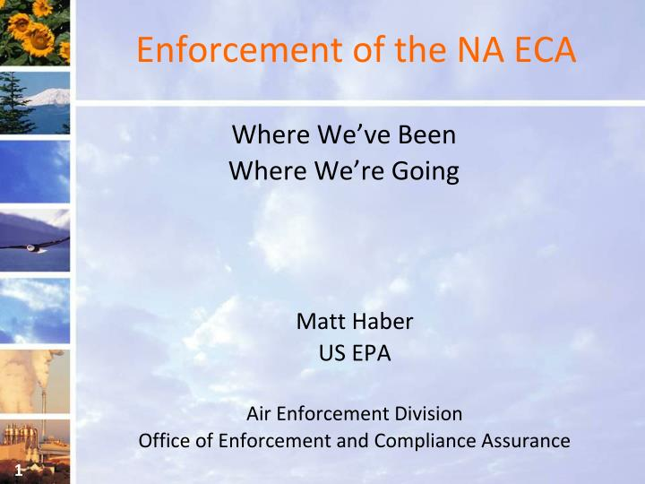 enforcement of the na eca n.