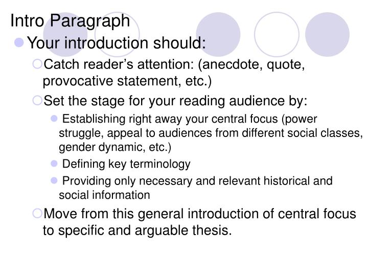 intro paragraph n.