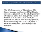 why must grantees register with the ccr