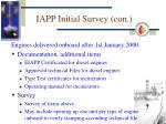iapp initial survey con