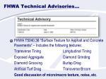 fhwa technical advisories1