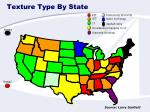 texture type by state