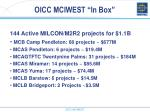 oicc mciwest in box