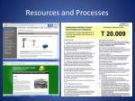 resources and processes2