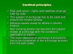 cardinal principles