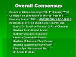 overall consensus
