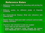 reference rates