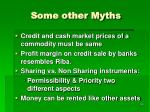 some other myths
