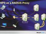nps as a radius proxy