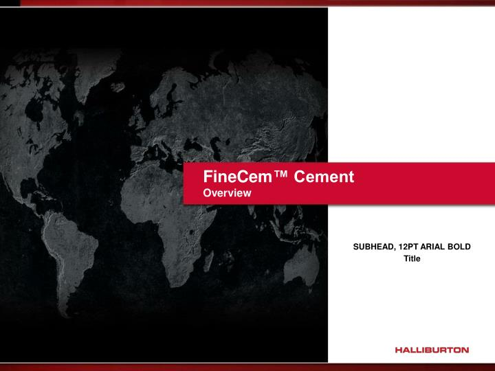 finecem cement overview n.