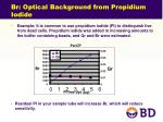 br optical background from propidium iodide1