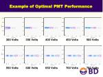 example of optimal pmt performance