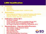 lsrii qualification4
