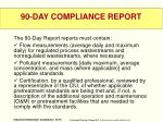 90 day compliance report1
