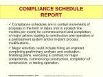 compliance schedule report1