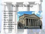 the greek heritage