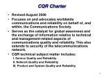 cqr charter