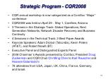 strategic program cqr2008
