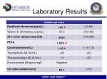 laboratory results1