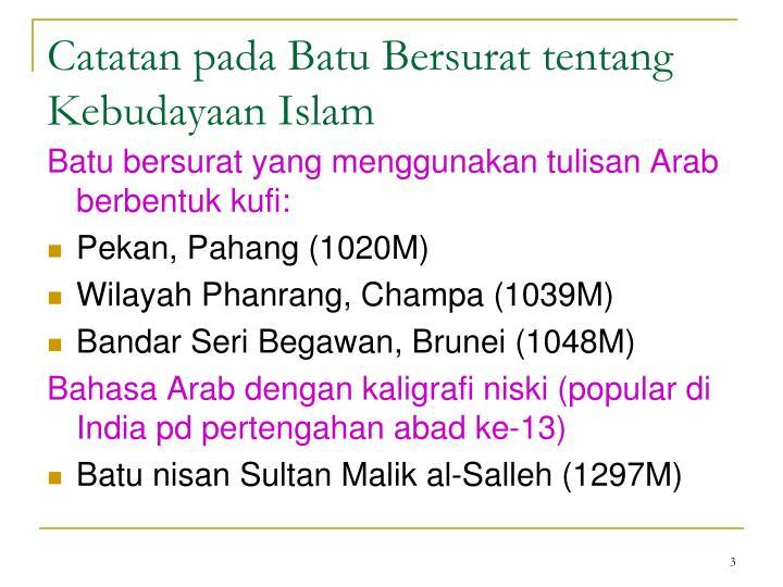 Ppt K2 Bmk Pada Batu Bersurat Ciri Bahasa Melayu Klasik Powerpoint