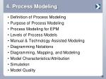 4 process modeling