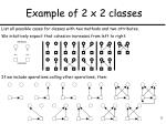example of 2 x 2 classes1