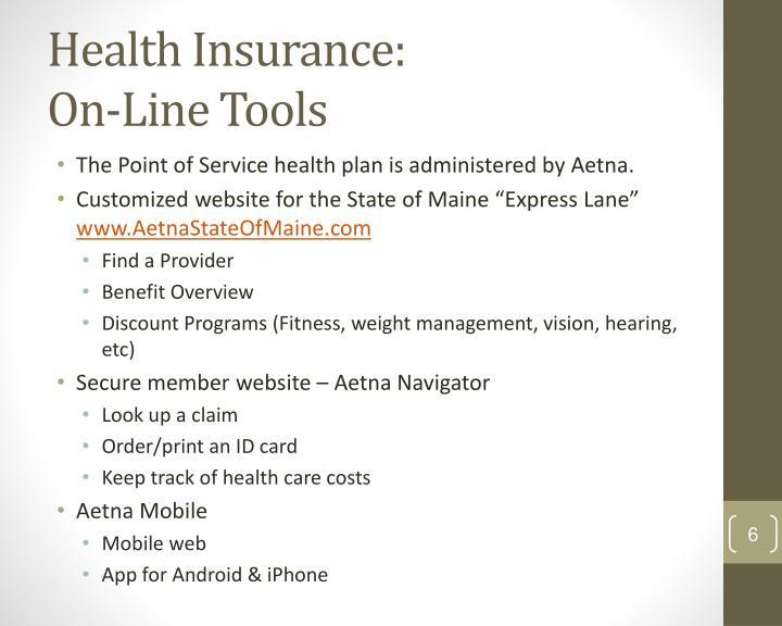 Health Insurance: