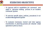 exercise objective
