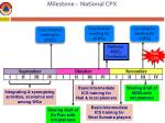 milestone national cpx