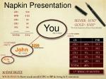 napkin presentation1